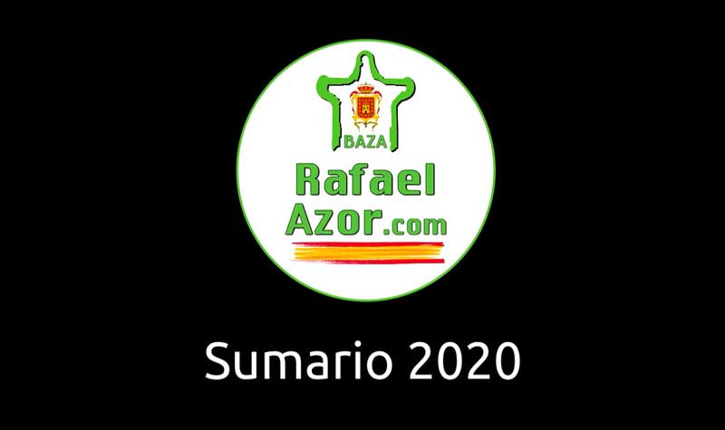 Video Sumario 2020 de Rafael Azor.com